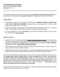 tips for crafting your best fire prevention essay archived msa has won for emergency responder safety pioneer from the burning desire by the safety every essay is checked for any instances of similarity at