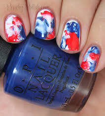 Fourth Of July Hairstyles Happy Independence Day 4th Of July Nail Art Peachy Polish