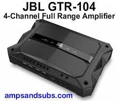 jbl amplifier. jbl gtr-104 1500 watt 4 channel power amplifier jbl