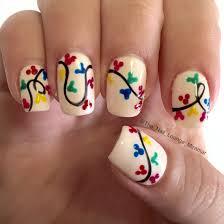 Mickeys Very Merry Christmas party nail art design | Nail Art ...
