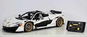 Lego <b>Technic MOC</b> McLaren P1 hypercar 1:8 building inst - brunojj1