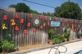 Backyard Fence Decorations Dma Homes 1557