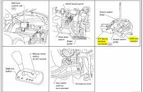 nissan altima the car starts and runs good shifter park graphic