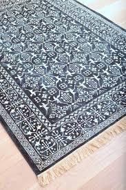 area rugs with fringe modern navy blue and white style fringe rug round area rug with