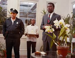 sidney poitier academy of achievement rod steiger as sheriff gillespie and sidney poitier as detective virgil tibbs in the greenhouse scene