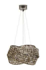 smoked glass chandelier uk designs black chandeliers our pick of the best ideal home