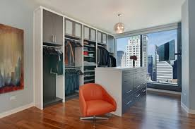 Webster Design Urban Organic Chicago High Rise Master Closet By Amanda