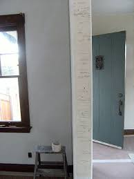 How To Mark A Wooden Growth Chart Wall Growth Charts Good Ideas Are A Dime A Dozen But