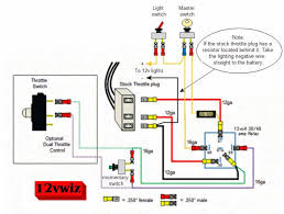 diagram request for 12v mustang modifiedpowerwheels com Jeep Power Wheels Foot Switch Wiring Diagram if you decide to add the remote kill feature power the receiver by catching b power after the key switch and use the same b source as the lights Electrical Power Wheel