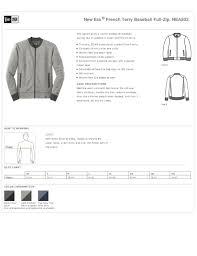 Mens Jacket Full Zip French Terry True To Size Apparel