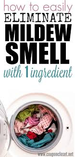 how to get rid of mildew smell with just 1 ing add this one ing to your wash and that old smell will be gone this works great with clothes