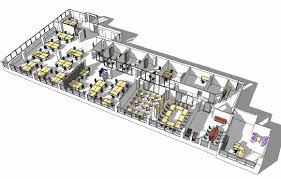 designing office layout. open office layout 3d design designing