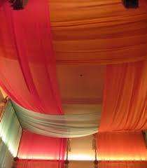 Hanging Fabric From Ceiling