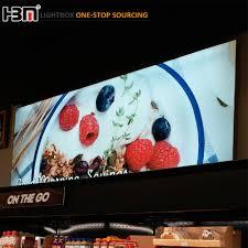 Aluminium Frame Led Light Box Led Light Box Advertising Advertising Light Box Hbm Manufaturer