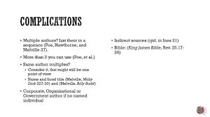 English 1301 Mla Documentation And Citation