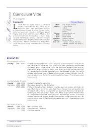 Latex Templates For Resume Best Latex Resume Template Engineer On Cv Resume Krida 18