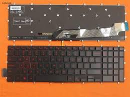 New Black Backlit <b>Keyboard for</b> Dell Inspiron Gaming 15-7566(<b>Red</b> ...