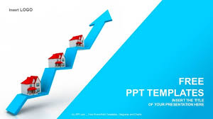 Powerpoint Real Estate Templates Home Sale Graph Real Estate Powerpoint Templates