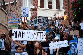 Image result for black lives matter protest starbucks