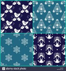 How To Design Gift Wrapping Paper 4 Christmas Gift Wrapping Paper Designs Stock Photo