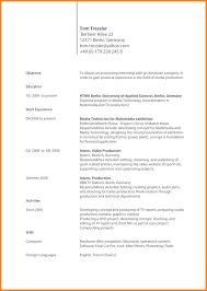 11 Lebenslauf Englisch Beispiel Resignation Format