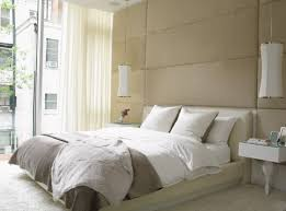 view in gallery soothing shades in the bedroom create a relaxed setting bedside lighting