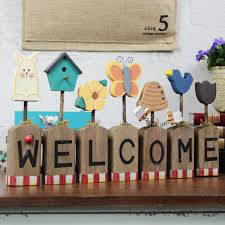 Welcome Home Decoration Ideas With Fine Buy American Village Welcome Sign  Welcome Set Nice Ideas