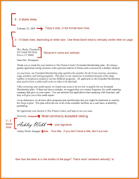 Cover Letter Format Spacing World Of Example
