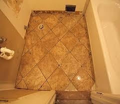 tile setter evan daniels diy diagonal bathroom tiling