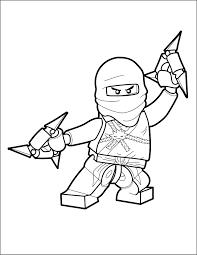 Zane - LEGO Ninjago Coloring Page - The Brick Show