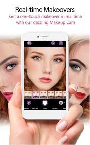 the youcam makeup app is like having a beautician at your fingertips