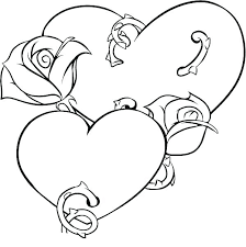 Coloring Page Of A Rose Coloring Pages Rose Flower Page Of Flowers