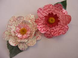 How To Make A Beautiful Flower With Paper How To Make Beautiful Flowers Using Craft Punches An American In