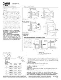Estate Egd4300t Clothes Dryer User Manual Manualzz Com