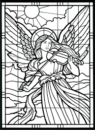 Free Angel Coloring Pages For Adults Printable Angel Coloring Pages
