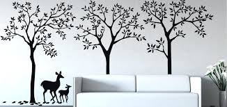 forest wall decal woodland forest animals wall decals
