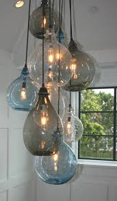 staircase lighting fixtures. Gorgeous Glass Light Fixture Above Staircase Lighting Fixtures L