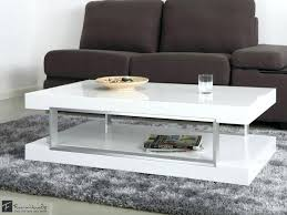 small white coffee table living room white coffee table best of high gloss with glass shelf