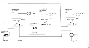 is300 fans how to wire them club lexus forums here is the wiring diagram instead of the standalone ecu aem above you have coolant temperature switches operates exactly the same way based on