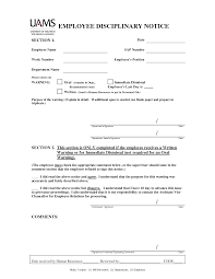 best images of employee two week notice letter employee employee disciplinary warning notice template