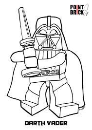 Small Picture Disegno di LEGO Darth Vader da colorare Coloring Pages Disegni