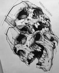 Pin By анна мигова артуровна On череп эскиз тату картинки с