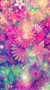 Glitter Girly Cute Rainbow Wallpaper ...