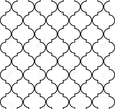 Quatrefoil Pattern Simple Quatrefoil Geometric Seamless Pattern Background Royalty Free