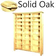 dvd storage cabinet storage cabinets and furniture cabinet solid oak large media shelves wood dvd storage