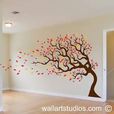 nt autumn tree fabulous wall decor tree stickers