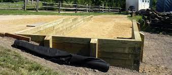 timber landscape retaining walls