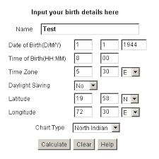 Birth Time Chart War Time Correction For Horoscopes Janma Kundali Free