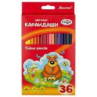 <b>ГАММА Карандаши цветные Мультики</b> 36 цветов (050918_10 ...