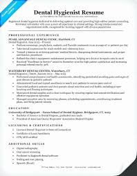 Dental Hygiene Resume Custom Registered Dental Hygienist Resume Sample Inspirational Dental